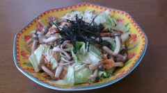 お料理作って!大徳さん 本日のテーマ:キャベツ