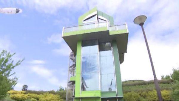 「ジブリパーク エレベーター棟」の画像検索結果