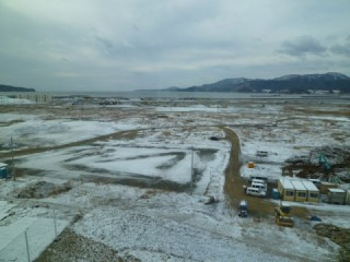 陸前高田雪