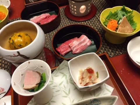 湯元館夕食