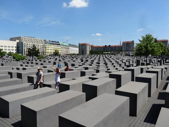 ベルリンのホロコースト記念碑