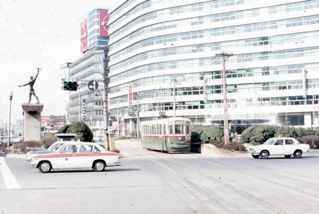 1972年(昭和47年)2月29日の名古屋市電。 – 中京テレビ:稲見 ...