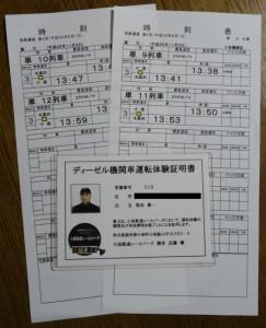 小坂鉄道証明