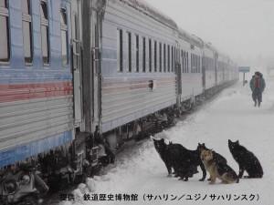 ст.Ноглики-пас.перрон_鉄道歴史博物館