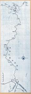 阿里山森林鉄道路線図(全体)