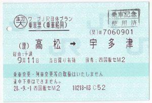 岡山~宇多津