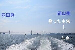 2016_09_11 瀬戸大橋塔頂体験&〕クルーズ_全景