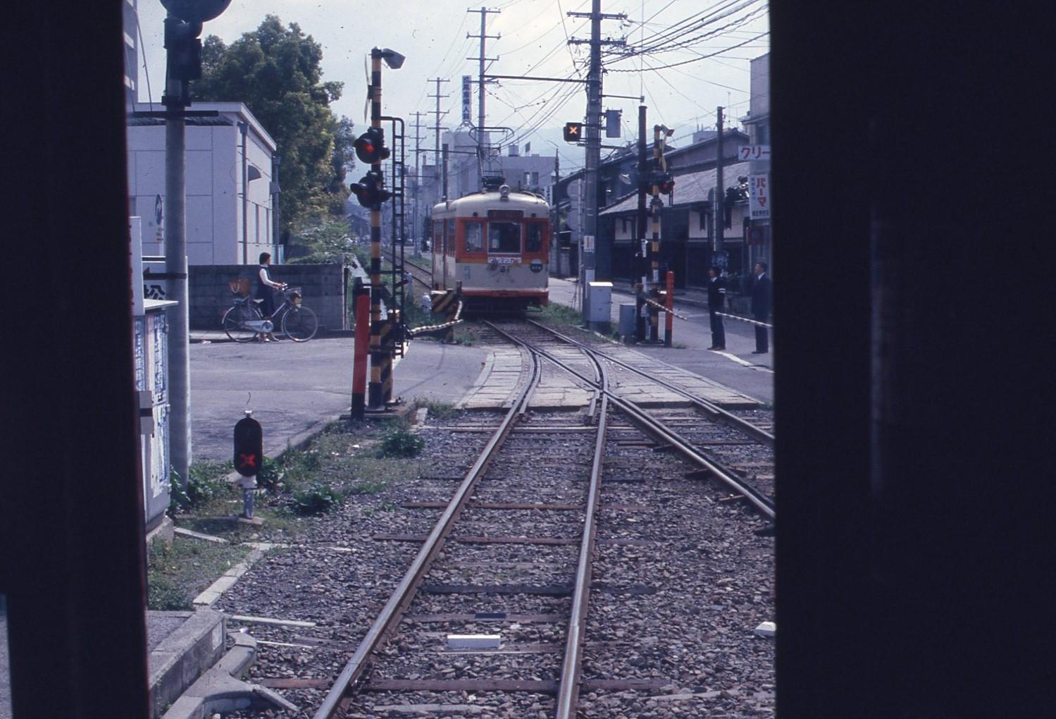 昭和53年(1978年)の伊予鉄道市内電車。 – 中京テレビ:稲見駅長 ...